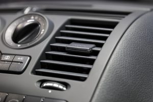 AC vents in car